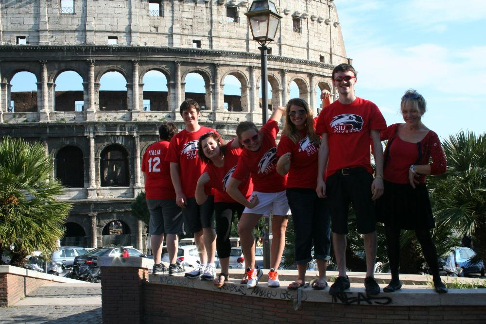 SIUE group in Rome 2012