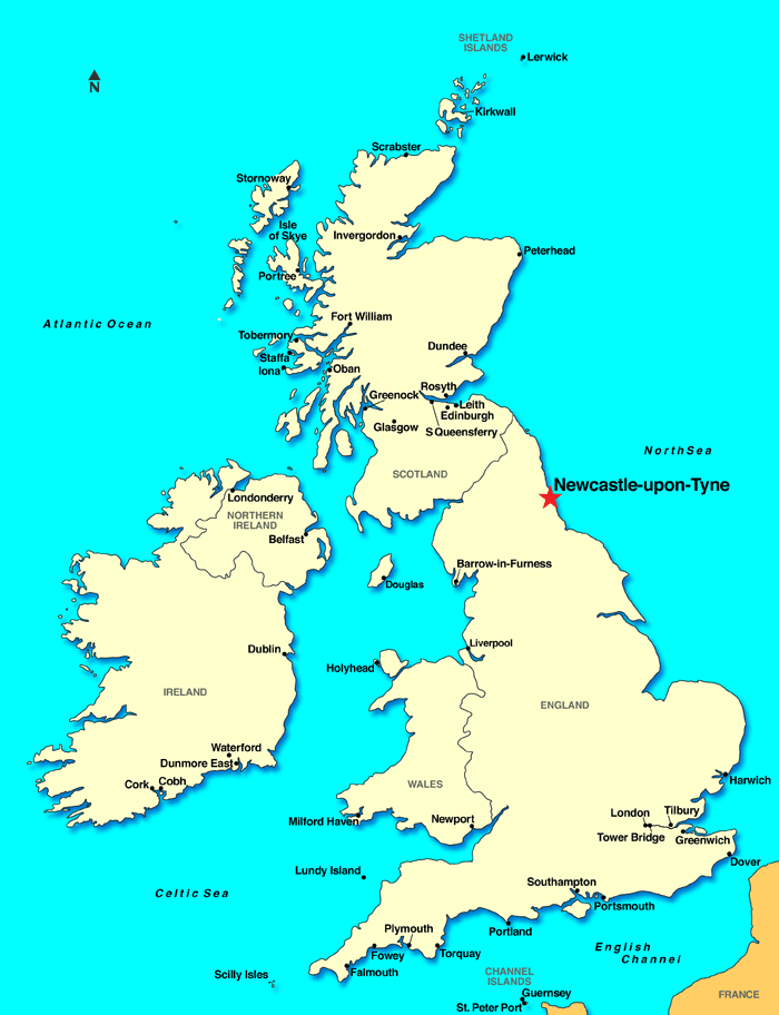 Map Of Uk Newcastle.Programs Brochure The Center For International Affairs