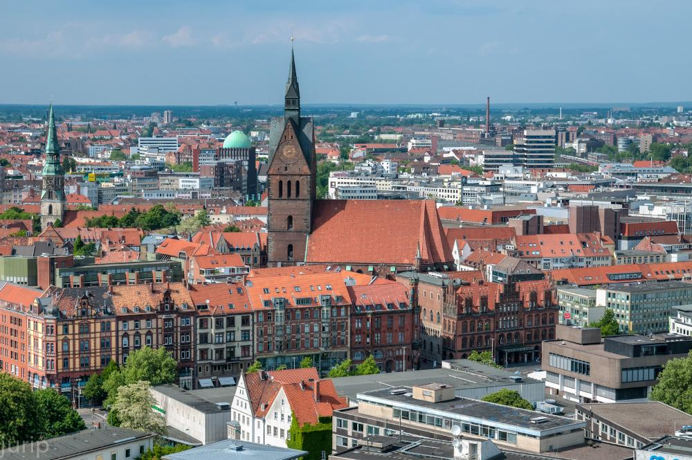 Hannover Germany city view